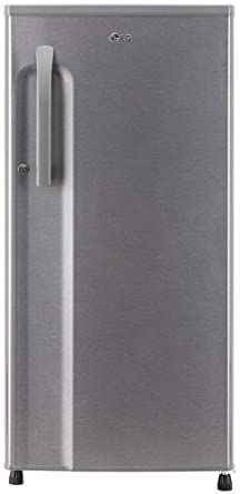LG 188 L 3 Star Inverter Direct-Cool Single-Door Refrigerator (GL-B191KDSW, Dazzle Steel)