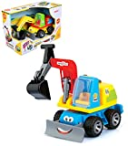 Best Tractor Bulldozer Digger Builder Vehicle Construction Toy Gift Play Set