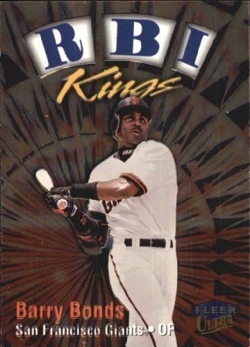 1999 Fleer Ultra RBI Kings Baseball Card #4 Barry Bonds ()