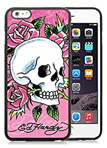 New Custom Designed iPhone 6 Plus 5.5 Inch Phone Case With Ed Hardy 13 Black Phone Case