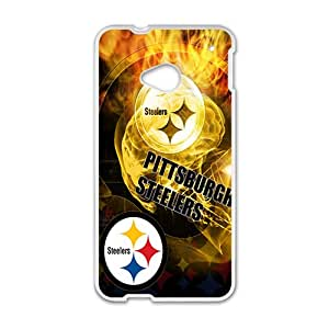 pittsburgh steelers logo Phone Case for HTC One M7