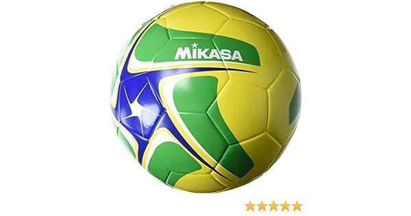 Mikasa Fútbol sce501 Soporte y footvoll eyball, Amarillo/Verde ...