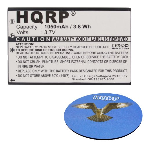 HQRP Battery for UNIVERSAL MX-810 MX-810i MX-880 MX-950 MX-9