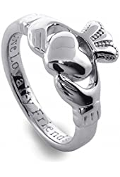 Sterling Silver Ladies' Claddagh Ring