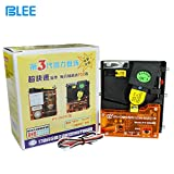 BLEE PY 800 CPU COMPARABLE UPRIGHT UPRIGHT Coins Selector Acceptor for Arcade Video Games Vending Machine Part and Coin-Operated Machines Support Multi Signal Output can work with euro us dollar ect