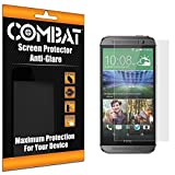 Cell Accessories For Less (TM) Combat 6 Pack Anti-Glare Matte Screen Protector for HTC One M8 Bundle (Stylus & Micro Cleaning Cloth) - By TheTargetBuys