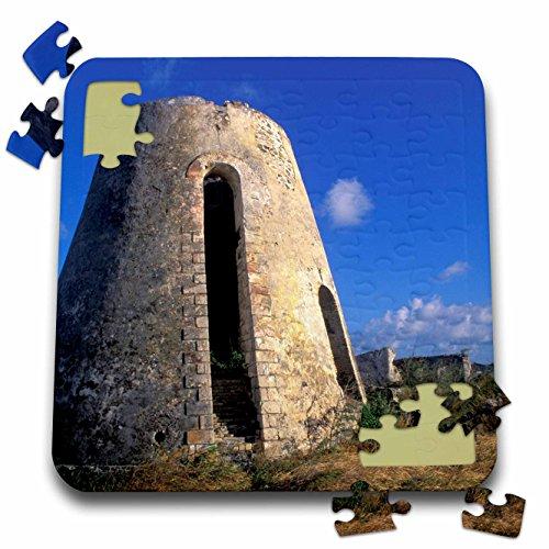 Danita Delimont - Plantations - US Virgin Islands, St. Croix. Sugar Mills plantation-CA37 BBA0001 - Bill Bachmann - 10x10 Inch Puzzle (pzl_74402_2)