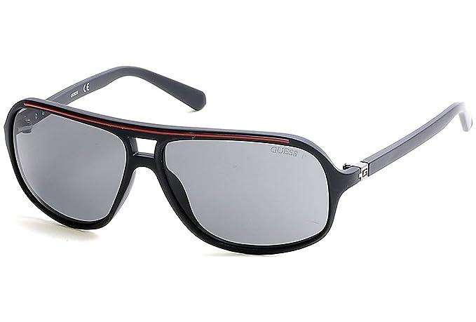 GUESS GU6877-02D, Gafas de Sol para Hombre, Matte Black/Smoke Polarized, 64: Amazon.es: Ropa y accesorios