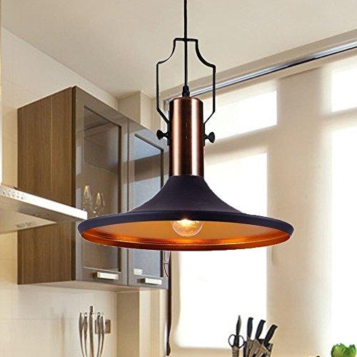 MSTAR Industrial Black Pendant Light Kitchen Bar Lighting Fixture Barn Lampshade Farmhouse Pendant Light Shade by MStar