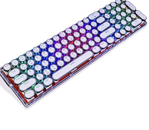 RGB Mechanical Keyboard Fully Transparent Design Acrylic Crystal ()