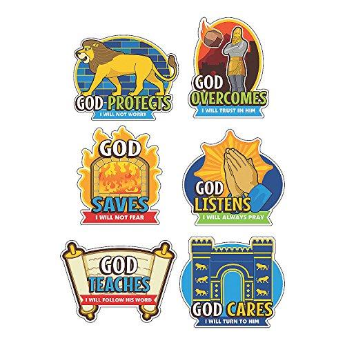 Babylon Cutouts for Vacation Bible School (6 pcs. per set) -