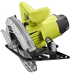Ryobi Reconditioned Corded Circular Saw comes equipped with a contoured design, front pommel handle for added comfort and grip.