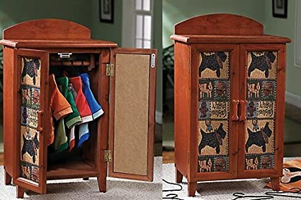 Awesome Dog Pet Clothes Closet Wardrobe Furniture