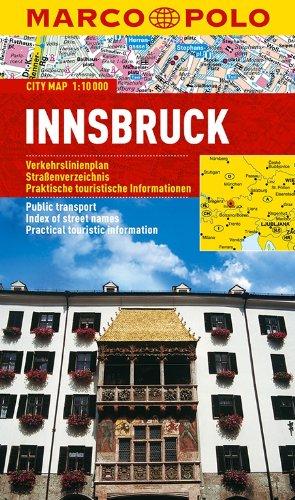 Innsbruck Marco Polo City Map (Marco Polo City Maps)