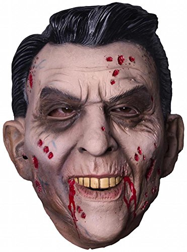 Mask Reagan (Morbid Enterprises Ronnie Zombie Mask, Tan, One)
