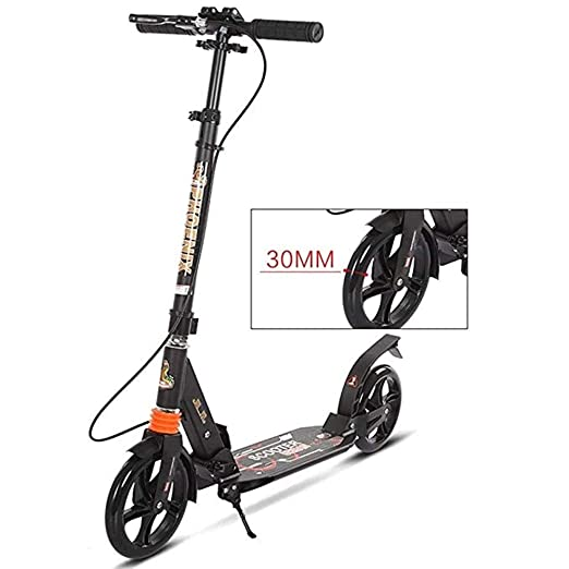 Patinetes Scooter De Pedal Plegable For Adultos con Freno De ...