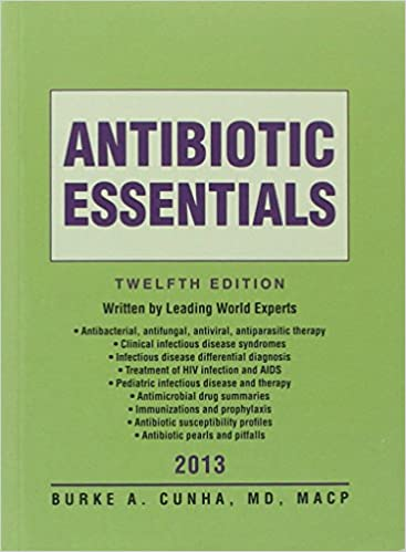 Antibiotic Essentials 2013