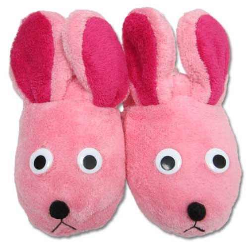 A Christmas Story Deluxe Bunny Slippers (Pink -
