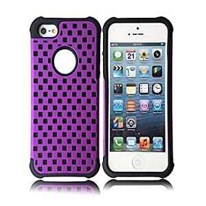 LX 2-in-1 Grid Case for iPhone 5 Color Navy