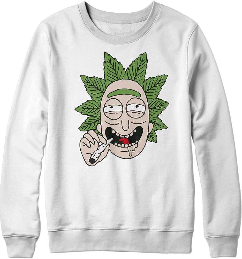 HYPSHRT Homme Sweatshirt Rick Weed C000396