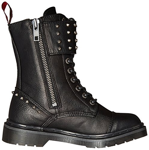 Blk Leather Vegan Demonia 309 RIVAL cWRSqpnE