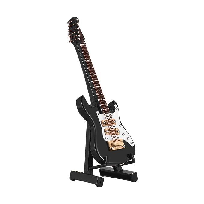 Muslady Mini Guitarra Eléctrica Modelo Exquisito Escritorio Musical ...