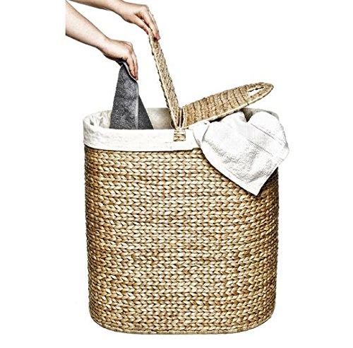 Best Seller Laundry Basket! Hand Woven Double Laundry Basket