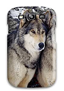 Awesome Case Cover/galaxy S3 Defender Case Cover(wolf Animal Wolf)