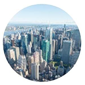 alfombrilla de ratón La Ville de Nueva York - ronda - 20cm
