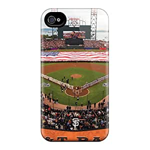 Tough Iphone YCi914udxS Case Cover/ Case For Iphone 4/4s(san Francisco Giants)