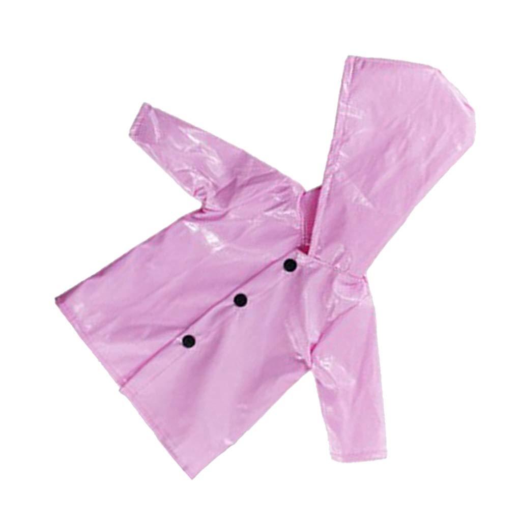 Homyl 1 St/ücke Puppenkleidung Regenmantel Regenkleidung f/ür 18 Zoll M/ädchen Puppe Pink