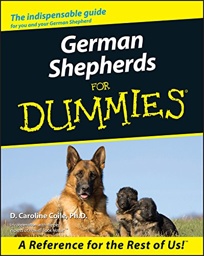 German Shepherds For Dummies (Best Dog Companion For German Shepherd)