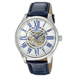 Invicta Men's 'Vintage' Automatic Stainless Steel and Blue Leather Casual Watch (Model: 22567)