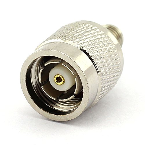DGZZI 2-Pack RP TNC Male to RP SMA Female RF Coaxial Adapter TNC to SMA Coax Jack Connector