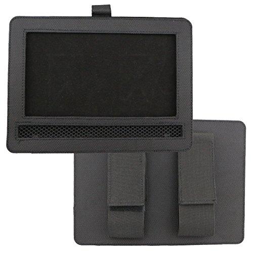 Car DVD Player Holder, Portable RevoLity 7-10.5 Inch Car DVD Headrest Mount Holder Strap Case Color Black (10-10.5 Inch) by RevoLity (Image #4)