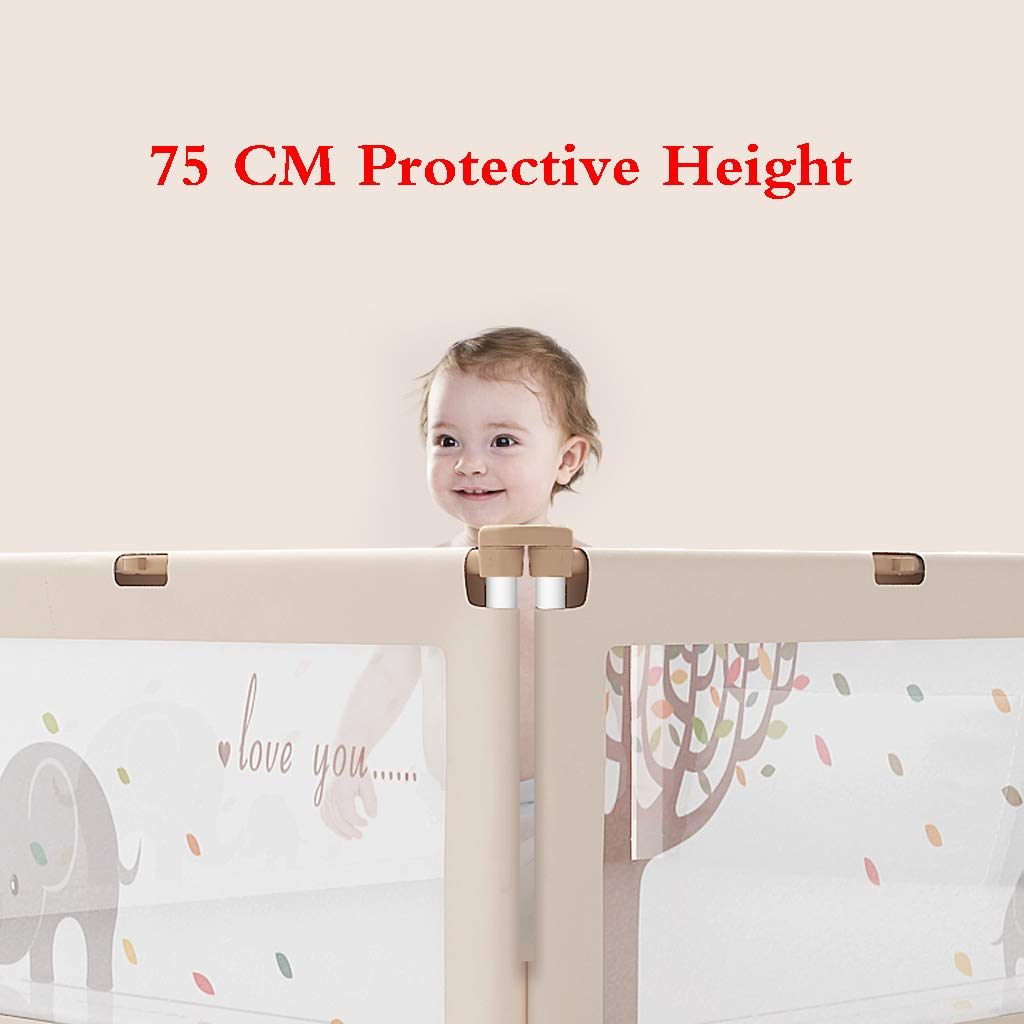 Portable Foldable Bed Rail Bed Guard Protection Safety Infant Child Toddler Safety Bed Rail Baby Kids Protective Guard Gate by SONGTING Guardrail (Image #5)