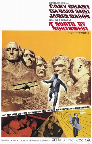 North By Northwest Poster Movie B 11x17 Cary Grant Eva Marie