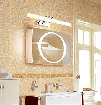 Spiegelfront Lampe LED Creative Wandspiegel Schrank Licht ...