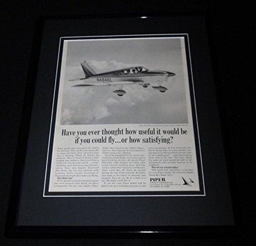 1968 Piper Aircraft Corporation Framed 11x14 ORIGINAL Vintage Advertisement