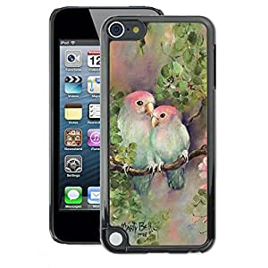 A-type Arte & diseño plástico duro Fundas Cover Cubre Hard Case Cover para Apple iPod Touch 5 (Love Lovers Painting Nature Hand)