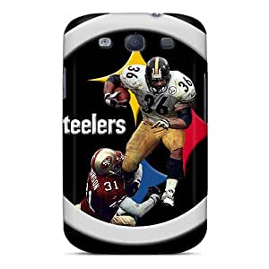 Excellent Hard Cell-phone Cases For Samsung Galaxy S3 With Allow Personal Design Lifelike Pittsburgh Steelers Series KennethKaczmarek