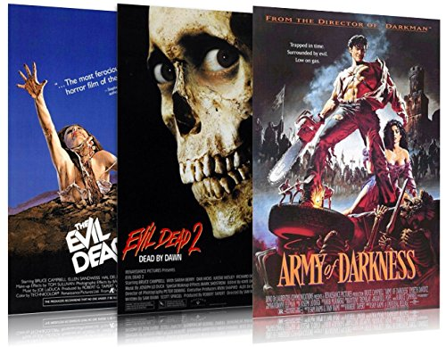 The Evil Dead Trilogy - Movie Poster / Print Set