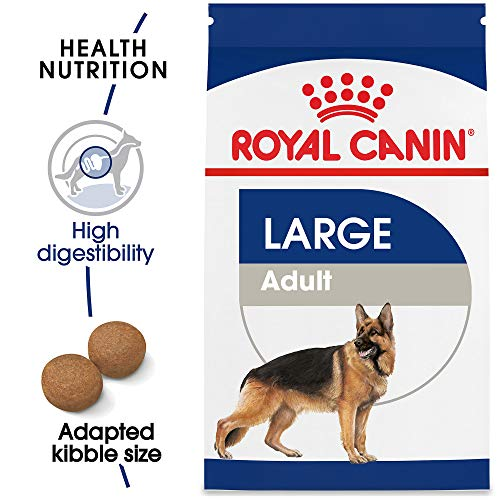 (Royal Canin Size Health Nutrition Large Adult Dry Dog Food, 35-Pound)