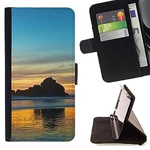 BullDog Case - FOR/Sony Xperia Z1 L39 / - / Nature Beautiful Forrest Green 66 /- Monedero de cuero de la PU Llevar cubierta de la caja con el ID Credit Card Slots Flip funda de cuer
