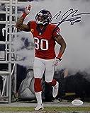 Andre Johnson Signed Houston Texans 8x10 Battle Red Photo- JSA W Auth Black