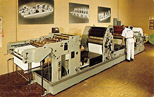 (Los Angeles California Print Press Machine Vintage Postcard K51123)