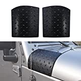 DIYTuning NEW Cowl Body Armor for Jeep Wrangler JK JKU Unlimited Rubicon Sahara X Off Road Sport Exterior Accessories Parts 2007 2008 2009 2010 2011 2012 2013 2014 2015 2016 2017