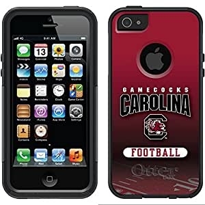 OtterBox iPhone 5/5S Black Commuter Series Case with South Carolina Football Field Design by Coveroo