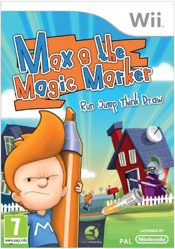 (Max and The Magic Marker (Wii) by Easy Interactive)