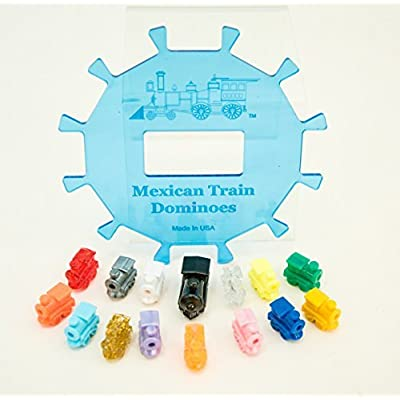 Mexican Train Center Piece With accessories, (up to 12 players): Toys & Games